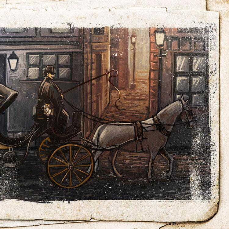 Carta carruaje