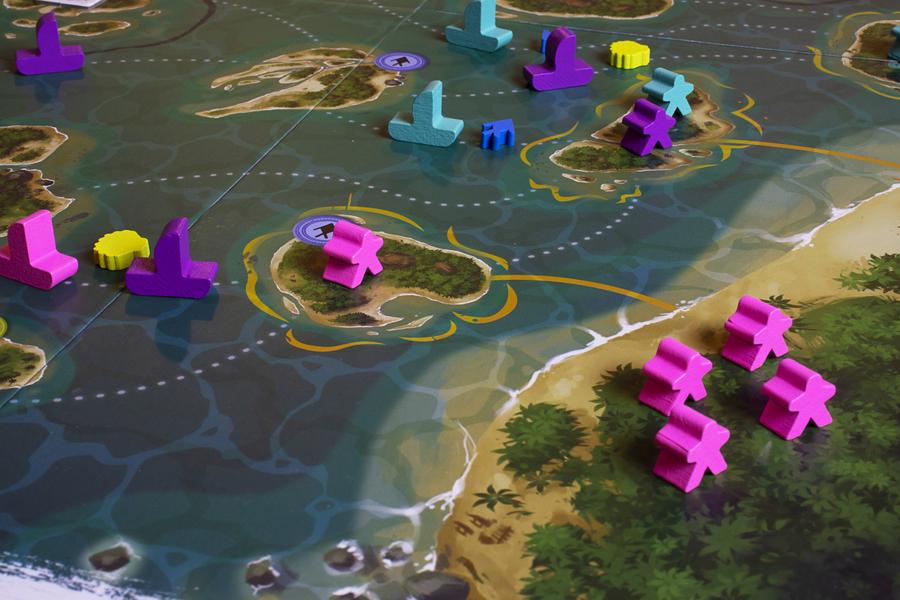 Polynesia · Componentes del juego